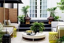 outdoor decor / Find helpful design inspiration for your outdoor space.