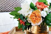 fabulous floral displays / Create your own gorgeous floral arrangement with inspiration from these beautiful blooms.