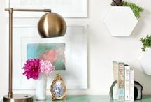 home decor accessories / Find inspiration for your space with these stylish home decor accessories.