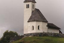 country churches / by Rita Johnson