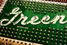 COLOR ˜ GREEN / by Brenda Clayton