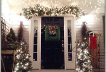Christmas*Deck the Halls*Holiday Decor** / Every beautiful and fun idea for Holiday decor!** Garlands**Wreaths** Lighting** Nativity Displays**Stockings**Mantles** Christmas Villages**Train Gardens**Santa and His Reindeer! CHRISTMAS MAGIC!