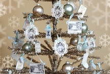 "Christmas*TrimTheTree*Ornaments* / **ORNAMENTS**GARLANDS**LIGHTS**HOMEMADE**HEIRLOOM**VINTAGE** To join this board..comment here ,or on my ""Leave a Message"" board. I will send you an invitation. Please try to pin only ideas for decorating holiday trees! Thanks! / by Anna Eberhart"