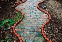 GARDEN*Path*Porch*Patio* / Everyone should make time for themselves to relax on the porch with loved ones... carving out the solitude needed to renew the spirit. Here are some beautiful porches, patios, paths, and walkways