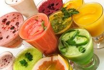 ALL*Smoothies Teas+Tonics Pins* / Recipes for a healthy version of SMOOTHIES- TEAS- TONICS- DETOX Concoctions + other Good For You Drinks! All the details about JUICING