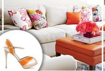 fashion-inspired decor / Find home decor and design ideas inspired by the season's hottest shoes.