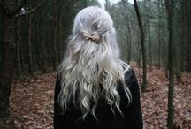 Beautiful Silver Hair / by Alex Dk