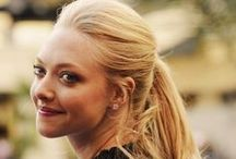 AMANDA SEYFRIED / One of my personal favorite actresses. / by Brenda Clayton