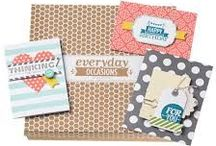 Stampin' Up Simple Kits / Short on time? Cleverly designed and coordinated kits form Stampin' Up are your solution to time shortage with desire to make cute things! Make these projects in a SNAP!
