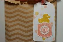 Oh baby! Stampin' Up! / Nesting much? May as well put that energy to work! DIY ideas for showers, memory keeping, gifts, etc.  Baby, u can do it! I can help! www.papermadeprettier.com