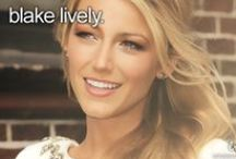 BLAKE LIVELY / Actress, model and married to cutie Ryan Reynolds. / by Brenda Clayton