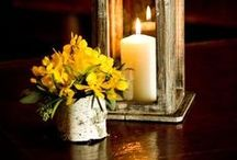 CANDLES & LANTERNS / I LOVE TO USE THESE AT HOME. / by Brenda Clayton