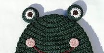 My crochet for the little ones: hats