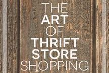Op Shopping & thrifting tips, tutorials and ideas / All things second had -op shops, thrift stores, garage sales, vintage markets, flea markets.....