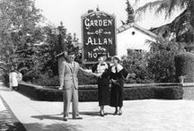 Golden Hollywood's Golden Places / Where to be seen or where to hide in the Golden Hollywood era. / by Debra Alexander
