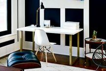 wonderful workspaces and home offices / Update your home office with inspiration from these stylish work spaces