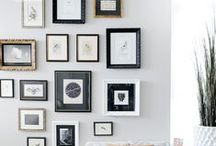 gorgeous gallery walls / Create the perfect gallery wall for any space!