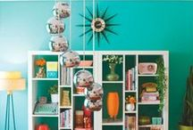 Vintage Retro Home Inspiration / I love quirky vintage homes that are designed with love and imagination.