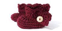 My crochet for the little ones: footwear