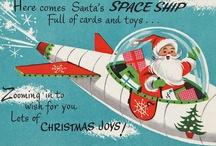 Merry Kitschmas / Ho ho ho, Merry Christmas! Vintage style! / by Maggi