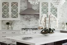 kitchen / Inspiration for our white kitchen remodel / by Theresa Turner
