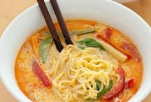 Recipes: Soups / by Jasmine Sagum