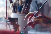 ARTISTS CREATING and their SPACES / by Sweet Rose