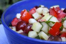 Salads... / by Carla Lemire