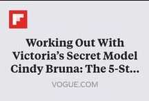 Victoria's Secret Ab Workouts / How the fittest models on the planet get their toned tummies.