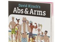 David Kirsch Books / As a leader in fitness and wellness, and a celebrity trainer, David Kirsch is also an author of several books which outline his outlook and practices for a healthier life.
