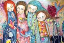 Folk Art Love