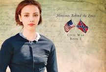 Wedded to War--A Civil War Novel by Jocelyn Green / My novel Wedded to War explores nursing in the first year of the Civil War. These pins are my inspiration for the characters and story, plus some interesting pieces of history I learned along the way.