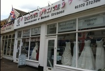"""Brides Visited Ashtead / Our wedding shop Brides Visited in Ashtead Surrey  """"Enter as strangers leave as Friends""""  Let our friendly team help you to find your dream wedding dress."""
