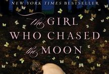 The Girl Who Chased the Moon / Themes from the book The Girl Who Chased the Moon.  Nighttime.  Summer mystery.  Cakes and barbecue.