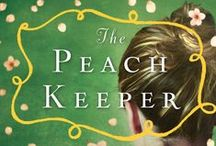 The Peach Keeper / Themes from the book The Peach Keeper.  Summer peachiness and coffee elements.  Old South.  Water features.