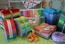 Fabric I Love!!! / Some of my Friends say I have to much Fabric!  I SAY you can never have to much!!! / by Laura Brown
