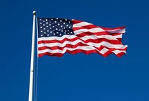USA Flags / Red, White, Blue