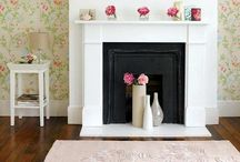 Fake Fireplace / DYI fireplace decor
