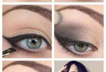 Make up how to & hair