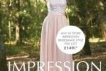 Bridesmaids Dresses / Dessy, Impression and Romantica bridesmaids dresses.  Brides Visited Bridal Shop in  Ashtead Surrey have over 200  to choose from