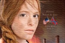 Yankee in Atlanta / These pins relate to my current novel in progress, Yankee in Atlanta, which is set to release in June 2014. It will be the third Civil War novel in the Heroines Behind the Lines series. The first two books are Wedded to War (Book 1) and Widow of Gettysburg (Book 2).