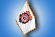 Fire and Police Department Flags / Fire Department and Police Department flags. Let these inspire you to create your Department flag