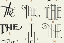 Alpha - Omega: Letters, lettering & type / by An Infomaniac