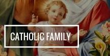 Catholic Family / Ideas for Catholic families to learn & live your faith with joy. Including fun catechetical ideas for kids!