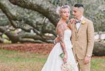 Tattooed Wedding Photography Inspiration / Photography inspiration from Marry Me Ink and other sites for tattooed brides and grooms everywhere.