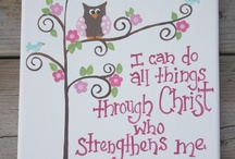Favorite Christian Sayings  / by Nancy Blandford