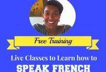 French Video Tutorials / Best VIDEOS to learn French language.  / by Annette Gilleron