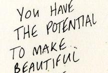 Happiness is handwritten / by Rosebud