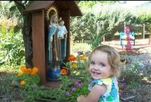 Catholic Garden Ideas / Creating a Catholic Garden at home is fun, gorgeous, and inspirational for your whole family. Be creative! / by The Catholic Company