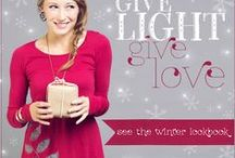 Give Light Give Love Winter Lookbook / by Soul Flower